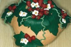 Aardbeienpot